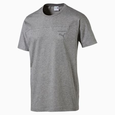 Pace Primary Men's T-Shirt, Medium Gray Heather, small-IND