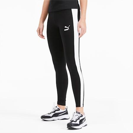Legging PUMA Classics Logo T7, Cotton Black, small