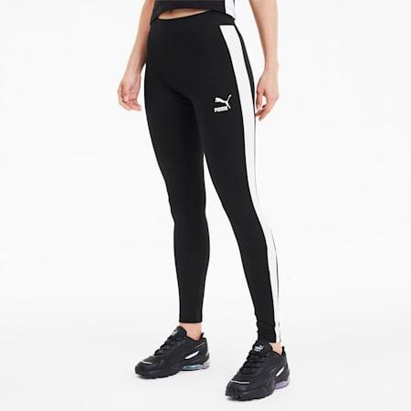 클래식 로고 T7 레깅스/Classics Logo T7 Legging, Cotton Black, small-KOR