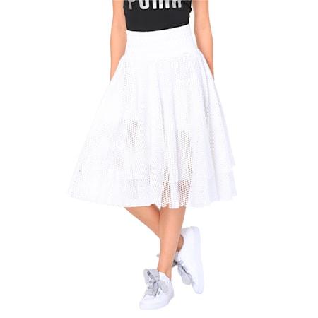 En Pointe Women's Skirt, Puma White, small-IND