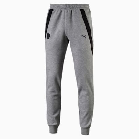 Ferrari Men's Sweatpants, Medium Gray Heather, small-IND