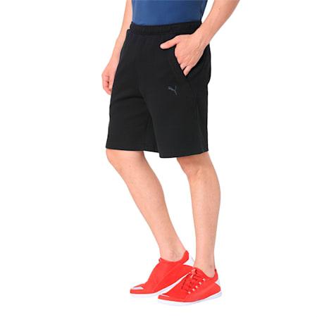 Ferrari Men's Sweat Shorts, Puma Black, small-SEA