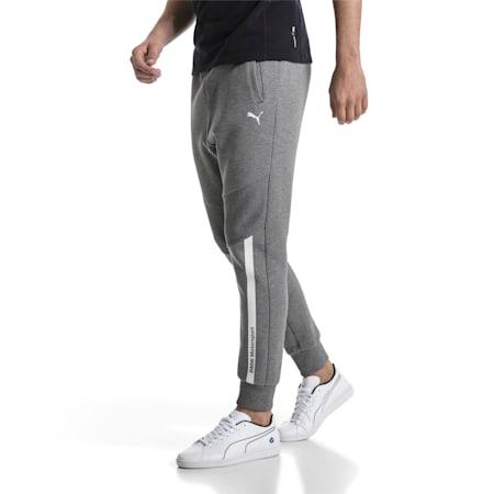 BMW Motorsport Men's Sweatpants, Medium Gray Heather, small-SEA