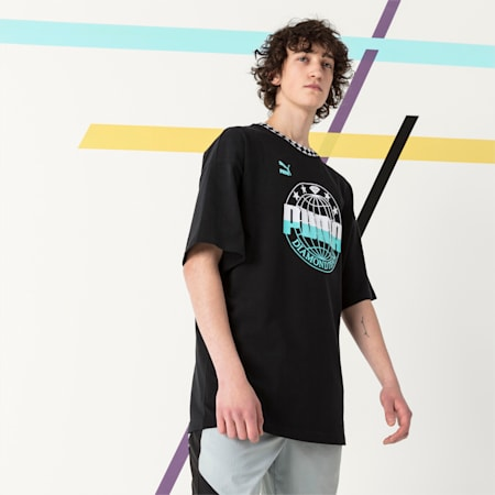 PUMA x DIAMOND Oversize T-Shirt, Puma Black, small