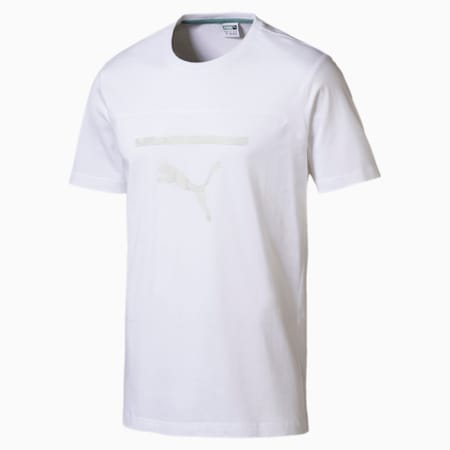 Pace Men's Graphic Tee, Puma White, small-IND
