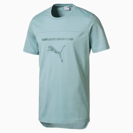 Pace Men's Graphic Tee, Aquifer, small-IND