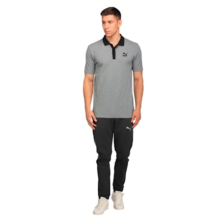 Archive Logo Polo, Medium Gray Heather, small-IND
