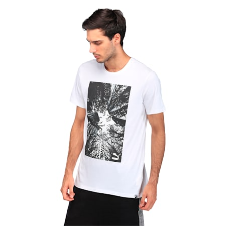 Brand Photo Tee, Puma White, small-IND