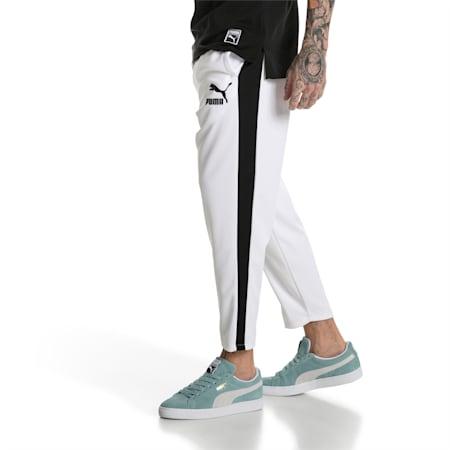 Pantaloni estivi Archive T7 uomo, Puma White, small