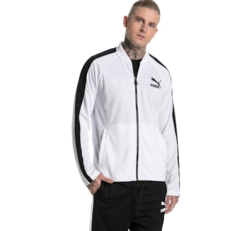 Archive Herren T7 Summer Jacke, Puma White, small