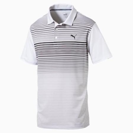 Highlight Stripe Polo Shirt, quarry, small-SEA