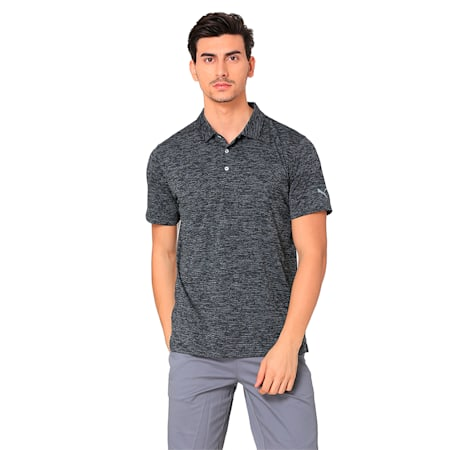 Essential Men's Golf Polo, Puma Black, small-IND