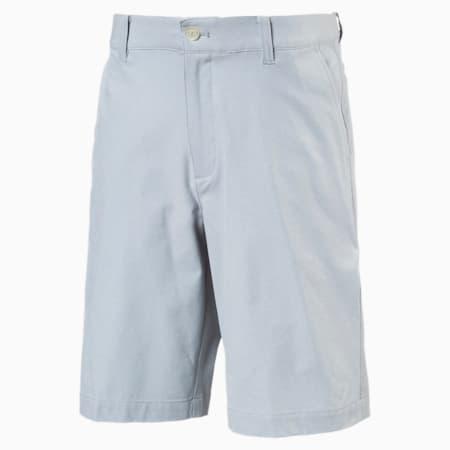 Heather Pounce Woven Boys' Golf Shorts, Quarry, small-SEA