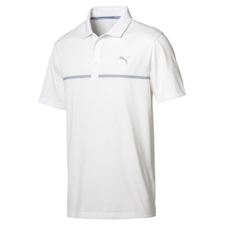 Golf Men's Nardo Grey Polo, Bright White, small-SEA