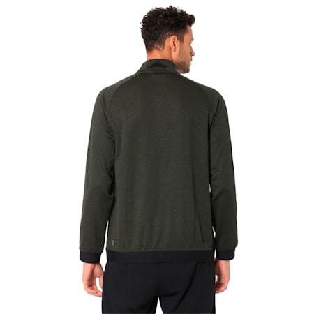 Golf Men's Envoy 1/4 Zip Sweater, Forest Night, small-IND