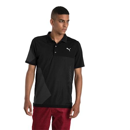 Golf Men's evoKNIT Dassler Polo, Puma Black, small-SEA