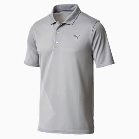Golf Men's evoKNIT Dassler Polo, Quarry, small-SEA