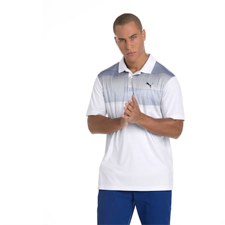 Golf Men's PWRCOOL Refraction Polo, Sodalite Blue, small-SEA