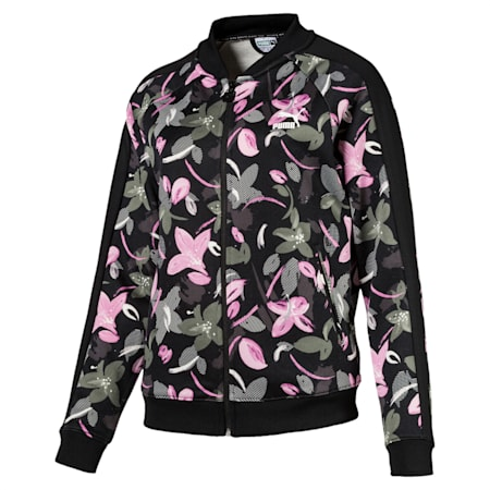 Classics T7 Track Jacket AOP Puma Black-, Puma Black-flower-uprising-1, small-IND