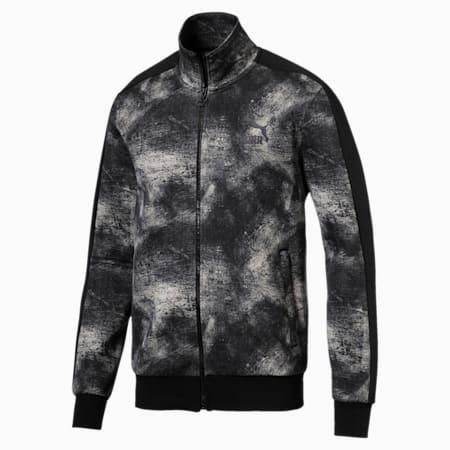 Classics All-Over Print T7 Men's Jacket, Elephant Skin, small