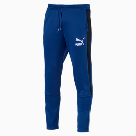 Archive Retro Quilted Men's Sweatpants, Sodalite Blue, small