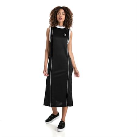 Retro Women's Dress, Puma Black, small-IND