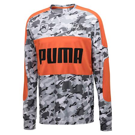 PUMA x ATELIER NEW REGIME LS TEE, Puma White--snow camo, small-JPN