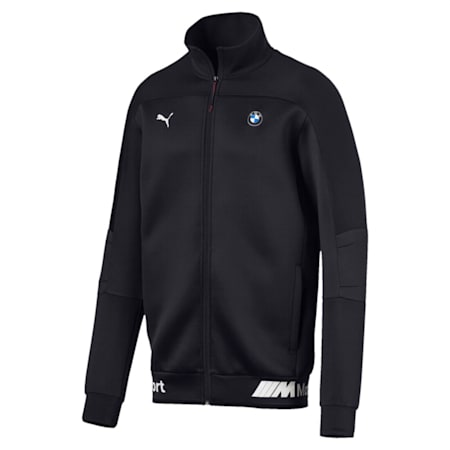 BMW MMS Life Zip-Up Men's Sweat Jacket, Anthracite, small-IND