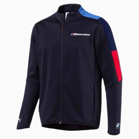 BMW M Motorsport Men's T7 Track Jacket, Team Blue, small