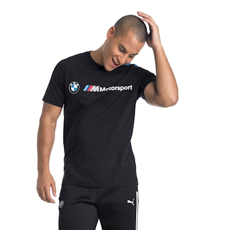 BMW M Motorsport Herren T7 T-Shirt, Anthracite, small