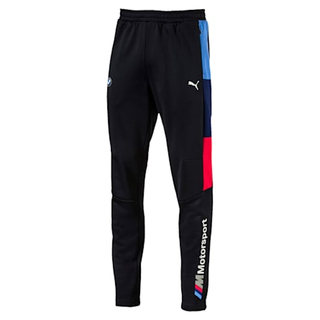 BMW M Motorsport Men's T7 Track Pants, Anthracite, small-IND