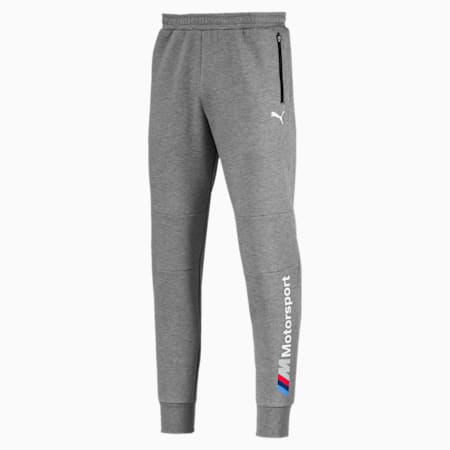 BMW Men's Sweatpants, Medium Gray Heather, small-SEA