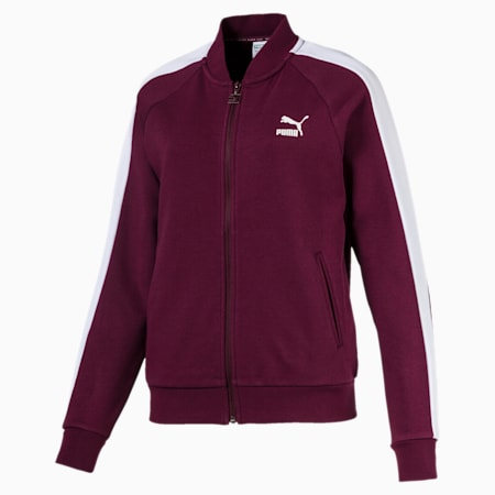 Classics T7 Women's Track Jacket, Fig, small