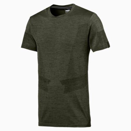 Ferrari evoKNIT Men's T-Shirt, Forest Night, small-IND