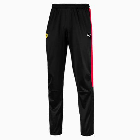 Pantalones deportivos Scuderia Ferrari T7 para hombre, Puma Black, pequeño