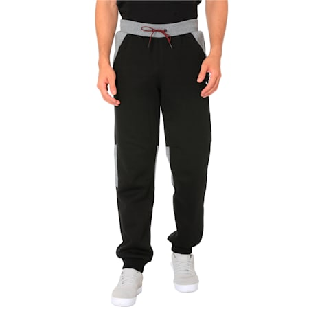 Ferrari Men's Sweatpants, Puma Black, small-IND