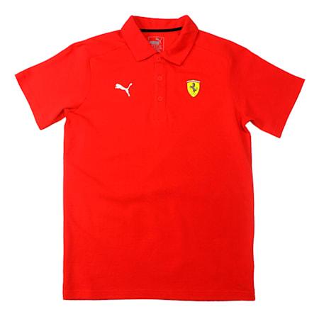 Scuderia Ferrari Kids Polo Rosso Corsa, Rosso Corsa, small-IND