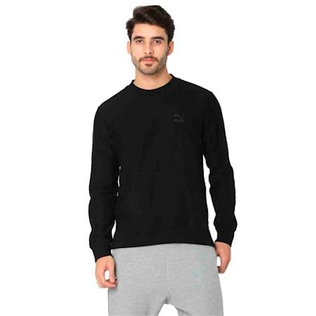 PUMA x Virat Kohli Men's Crew T-Shirt, Puma Black, small-IND