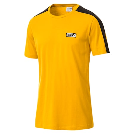 T7 Spezial Men's T-Shirt, Spectra Yellow, small-IND