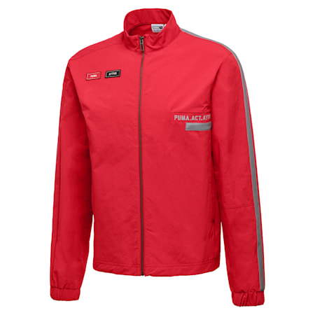 PUMA x OUTLAW MOSCOW Zip-Up Men's Track Top, Ribbon Red, small
