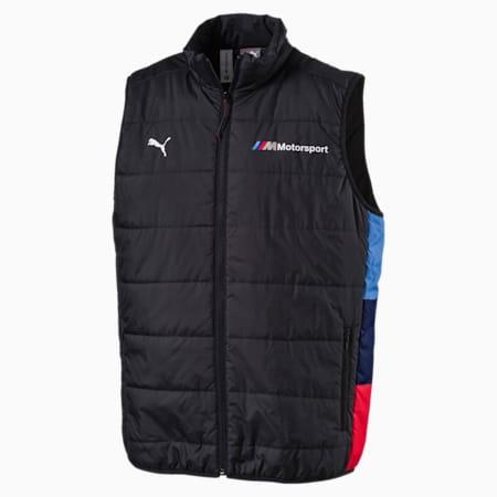 BMW M Motorsport Men's Padded Vest, Anthracite, small