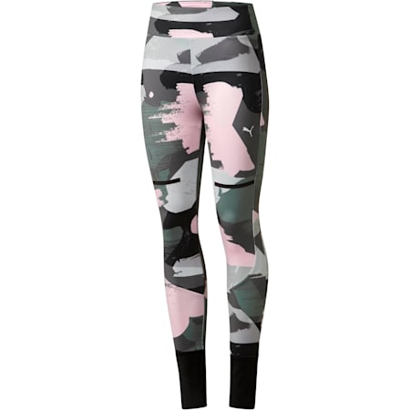 Chase All-Over Print Women's Leggings, Iron Gate, small