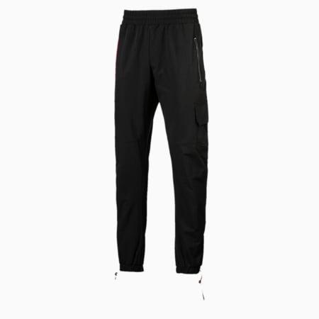 Ferrari SFXX Lifestyle Men's Woven Pants, Puma Black, small-IND
