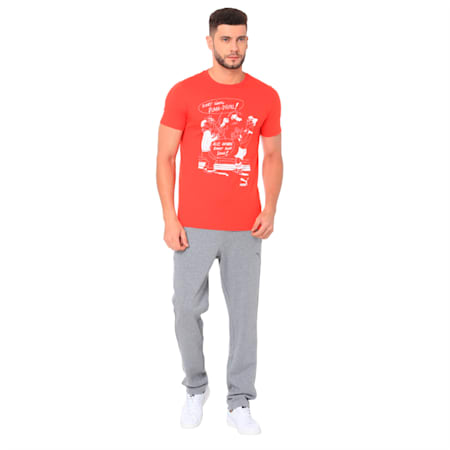 Heritage Tee, Flame Scarlet, small-IND