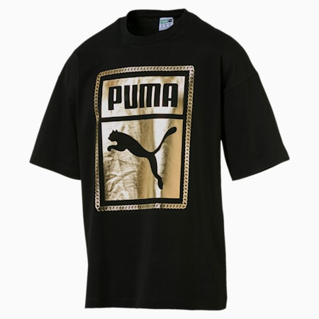 Chains Men's Tee, Puma Black-1, small