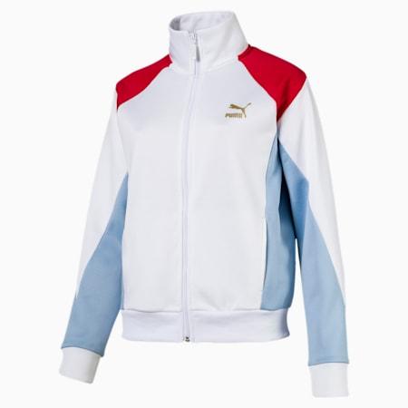RETRO トラックジャケット, Puma White, small-JPN