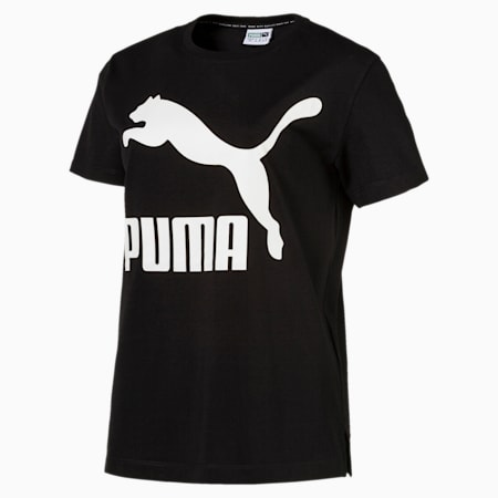 CLASSICS ロゴ SS Tシャツ, Cotton Black, small-JPN