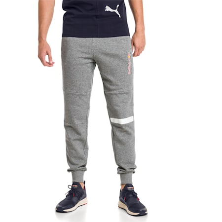 Red Bull Racing Men's Sweatpants, Medium Gray Heather, small-IND