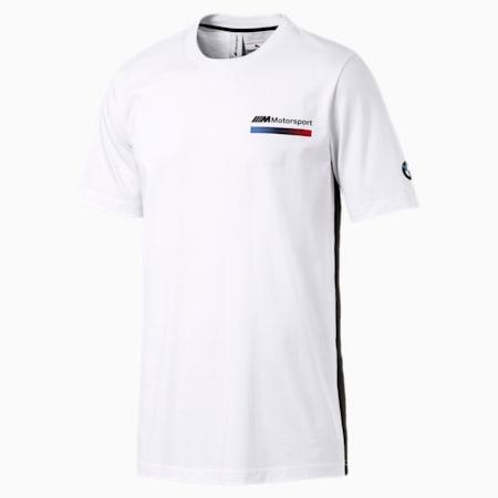 BMW M Motorsport Lifestyle Men's Graphic Tee, Puma White, small-SEA