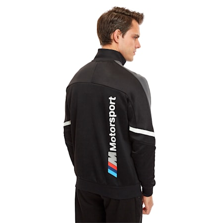 BMW M Motorsport T7 Men's Track Jacket, Puma Black, small-SEA